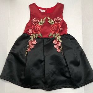 Other - Toddler girl embroidery sleeveless dress
